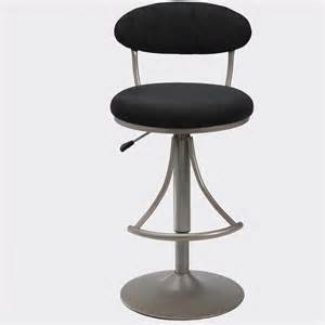 Black Swivel Bar Stool Hillsdale Venus 24 Quot To 30 Quot Height Adjustable Swivel Black Bar Stool Ebay
