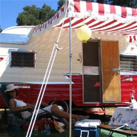 Vintage Awning by Classic Vintage Trailer Awnings