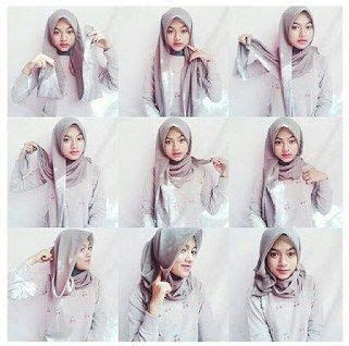 tutorial berhijab yang modis 167 best images about hijab fashion inspiration on