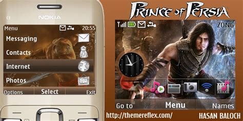 themes nokia x2 01 by princeabid prince of persia theme for nokia c3 x2 01 themereflex