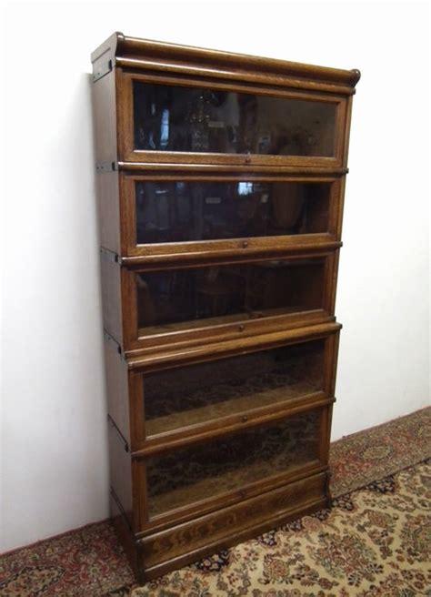 Globe Wernicke Sectional Bookcase by Globe Wernicke Oak Sectional Bookcase Antiques Atlas