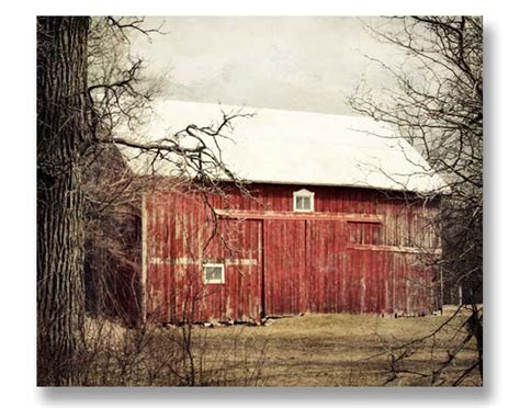 red barn home decor red barn photography rustic home decor old farm by