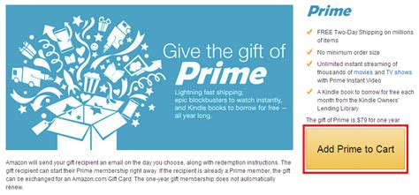 Renew Amazon Prime With Gift Card - how new members can get 67 amazon prime memberships