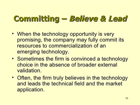 Mba In Technology Commercialization by Um Mba Program Technology Assessment Process