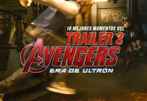 Raglan Aou 04 Age Of Ultron Marvel Ordinal Apparel 10 mejores momentos trailer 3 de age of ultron