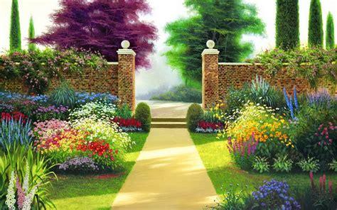 ver jardines sendero de jardines fondos de pantalla sendero de