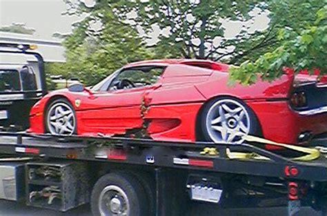 How Much Is A Ferrari F50 by News Insurance Company Sues Fbi For Crashing Ferrari F50
