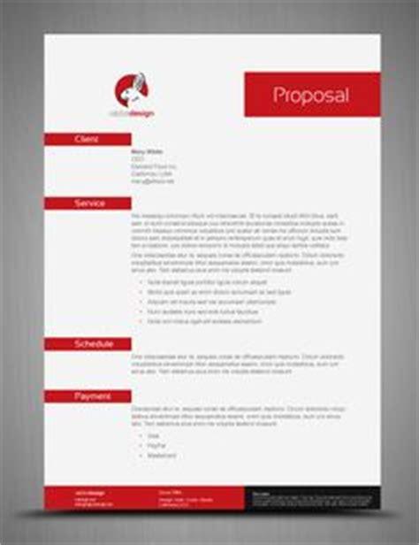 web design proposal vol 1 indesign proposal template i design pinterest