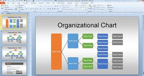 power point org chart template free org chart powerpoint template for organizational