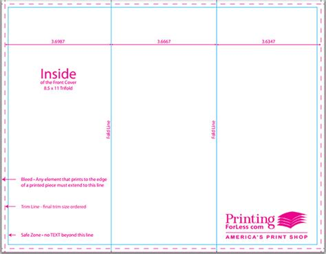 a4 tri fold brochure template a4 tri fold brochure template 16 awsome brochure sizes and