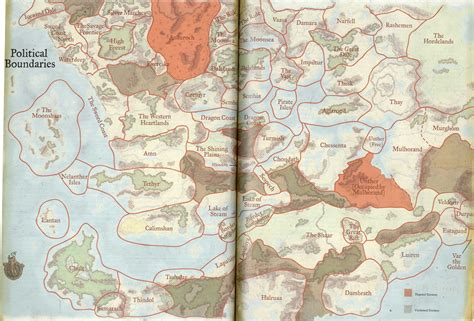 map of faerun faerun map images