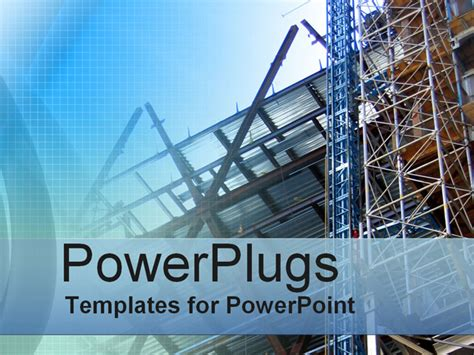 ppt templates free download construction free construction powerpoint templates blue print