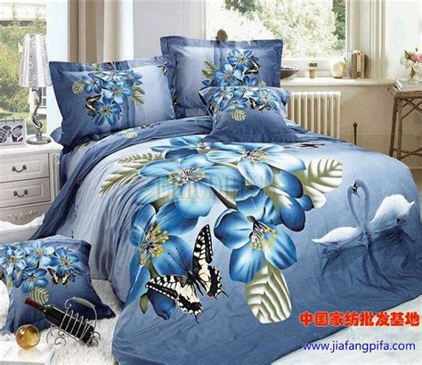 Sprei Set Swan In Violet King Size Ukuran 180 X 200 1 the swan and butterfly 3d bedding sets 3d bedding sets bed sets and furniture