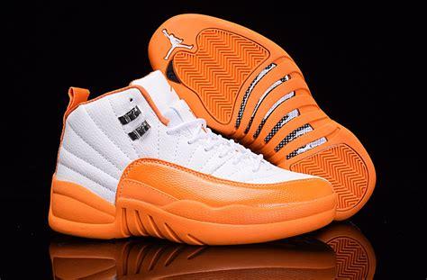 womens orange basketball shoes womens nike air 12 basketball shoes green white