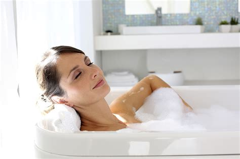 women in bathtub test how do you recharge your batteries psychologies