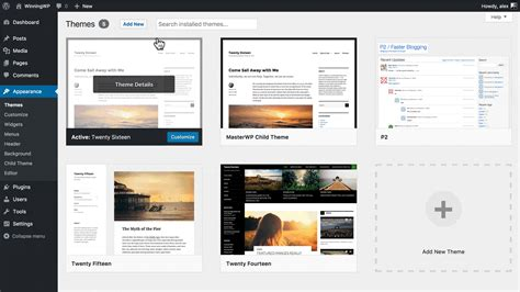 how to install and set up a new wordpress theme gt gt 21