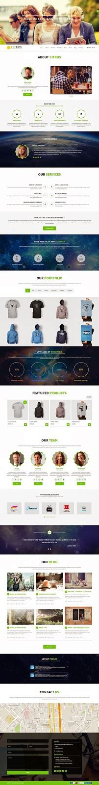 shopify themes best 2015 citrus one page parallax multipurpose ecommerce theme 2015