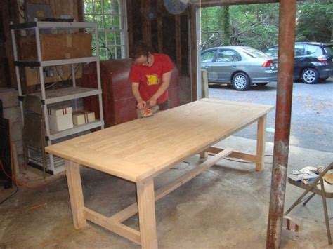 how to make a rustic dining room table diy rustic dining room table for the casa pinterest