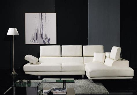 black and white leather sofa set t60 white bonded leather sectional sofa set black