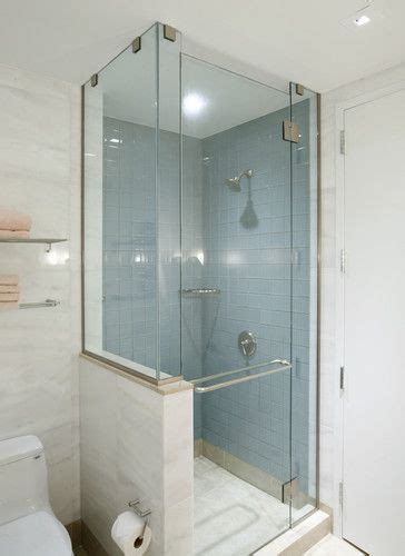 bath photos shower knee wall design pictures remodel
