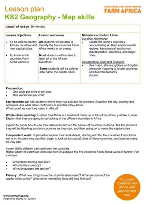 geography objectives ks2 compass and map reading lower ks2 geography by izzynicole