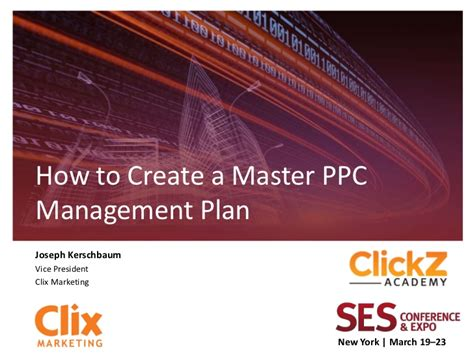 ppc strategy template how to create a master ppc management plan