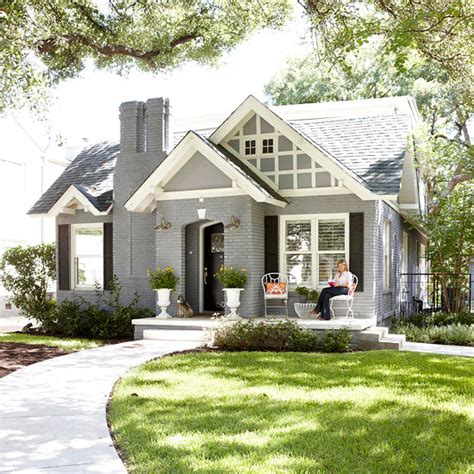 if by blue you mean grey {exterior house paint ideas}