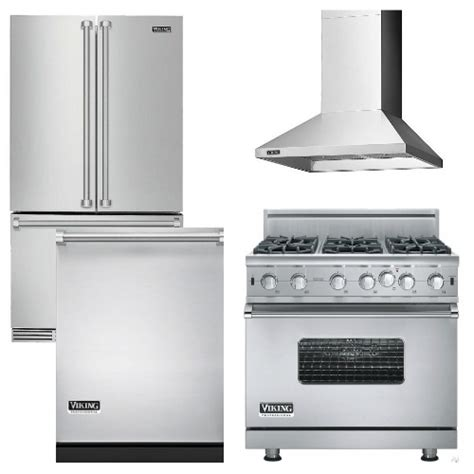 viking kitchen appliance packages package v7 viking appliance package 4 piece luxury