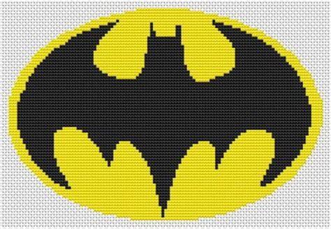 knitting pattern batman logo batman symbol knitting pattern pictures to pin on