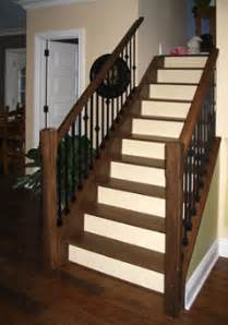 How To Install Newel Post And Handrail Black Walnut Treads Railings With Wrought Iron Spindles