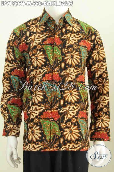 Batik Hem Anak Sabrina Daun kemeja batik kwalitas premium hem batik lengan
