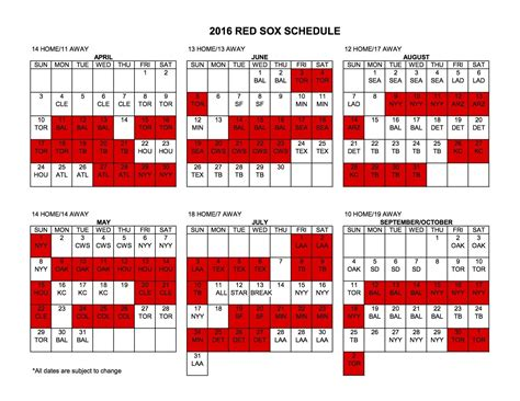 boston sox 2016 schedule home opener vs orioles
