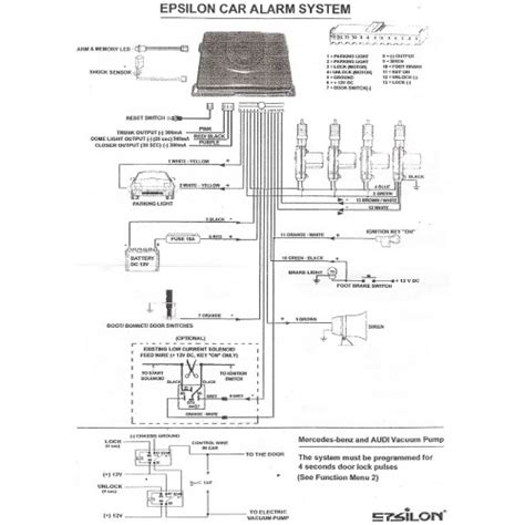 wiring diagram alarm kereta wiring diagram