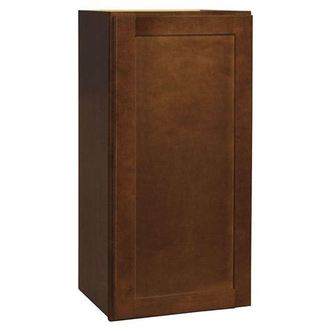 home depot shaker cabinets hton bay assembled 15x30x12 in shaker wall cabinet in