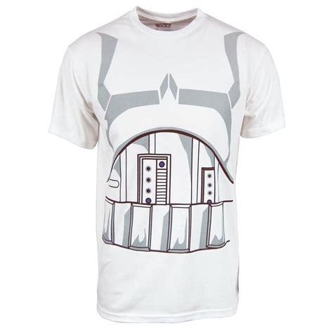 mens wars stormtrooper costume t shirt white