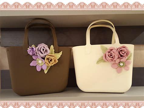 fior di borse creazioni di maricrea le mie borse in gomma decorate con