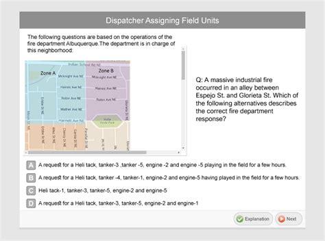 dispatcher test questions