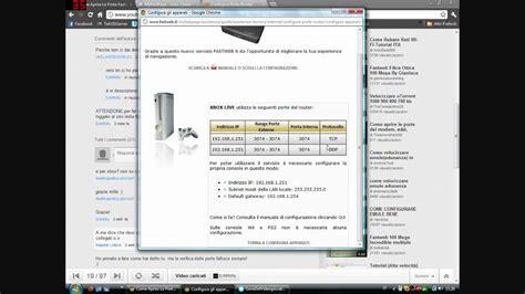 configurare porte fastweb come aprire le porte fastweb aggiornato
