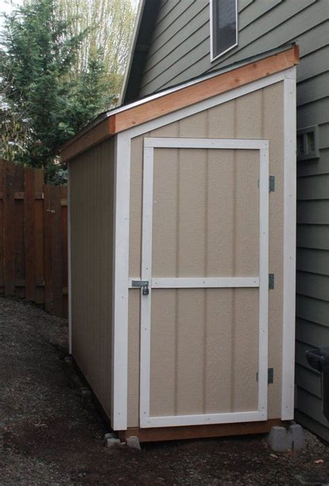 Small Side Shed 25 Best Ideas About Wood Shed Plans On Wood