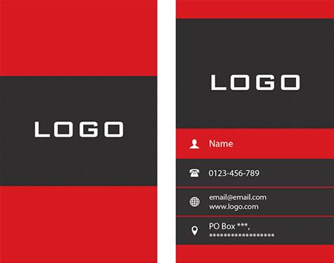 Free Vertical Business Card Template Psd by Vertical Business Card Design Free Psd In Photoshop Psd