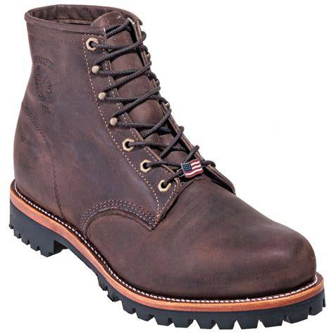 chippewa boots for chippewa boots s usa made brown 25290 engineer boots