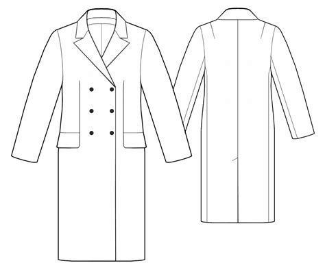 coat dress sewing pattern 5511 made to measure sewing