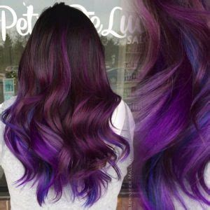 black amethyst hair color amethyst locks are the hair colour trend for