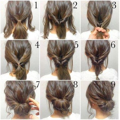medium length layered hair step by step top 10 messy updo tutorials for different hair lengths