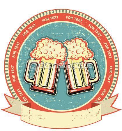 Bieretiketten Vorlage by Bier Etikett Auf Alten Papier Texture Vintage