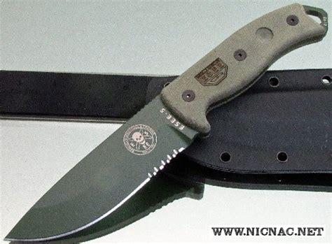 www eseeknives esee model 5 part serrated od knife with sheath