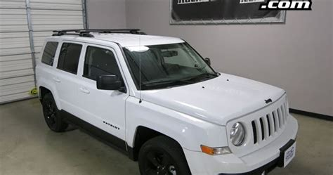 Roof Rack For Jeep Patriot by Rack Outfitters Jeep Patriot Rhino Rack Sx Vortex Aero