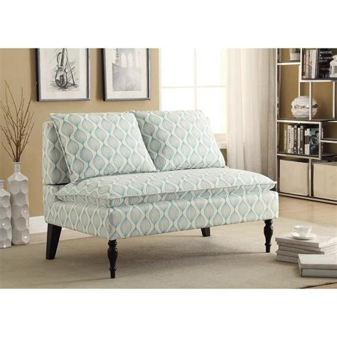 Blue Banquette by Pri Banquette Blue Bench Ds 2282 400 The Home Depot