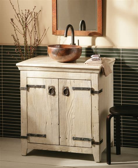 bathroom vanity with farmhouse sink trails 30 quot americana vanity in whitewash