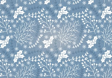 svg pattern jpg winter holly vector seamless pattern download free